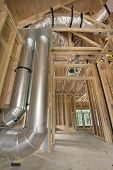 Duct Work For Home Heating Cooling System