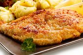 pic of pork cutlet  - Pork chops - JPG