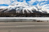 image of engadine  - beautiful mountain landscape - JPG