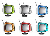 Old Tv Television (vector)