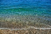 Gentle Wave Of The Turquoise Waters
