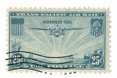 United States Stamp China Clipper Airplane