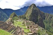 stock photo of cultural artifacts  - Machu Picchu or Machu Pikchu  - JPG