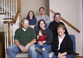 Three Generations Family  Having Fun