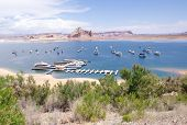 Port For Ships And Boats In Lake Powell