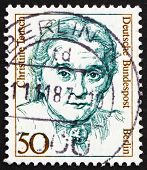 Postage Stamp Germany 1986 Christine Teusch, Politician