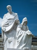 Statue Of Saints Cyril And Methodius