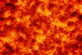 image of magma  - Computer generated abstract background of magma lava - JPG