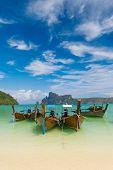 Paradise beach of Koh Phi Phi in Thailand