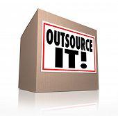 Outsource It Cardboard Box Send Jobs Work Elsewhere