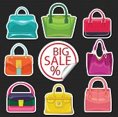 Multi-coloured Fashion Women's Handbag.big Sale