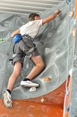 Competition Rock Climbing