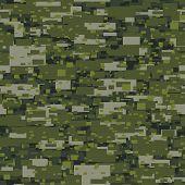 Camouflage Urban Disruptive Block Khaki Pattern