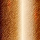 Vector abstract metallic copper background