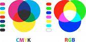 Cartas de color RGB/CMYK