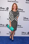 LOS ANGELES - MAY 19:  Katie Leclerc at the Disney Media Networks International Upfronts at Walt Dis