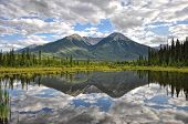 Vermillion Lake reflection - Banff, Alberta