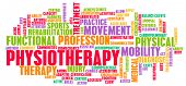 foto of physiotherapy  - Physiotherapy as a Medical Career Concept Art - JPG