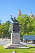 Segovia. Monument Chef Candido Lopez