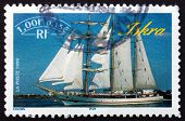 Postage Stamp France 1999 Iskra, Sailing Ship