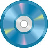 The view of compact disk