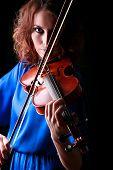 Violin Playing Violinist Musician.