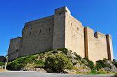 a view of Templar Castle of Miravet, in Spain