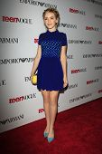 LOS ANGELES - SEP 27:  Kiernan Shipka at the Teen Vogue's 10th Annual Young Hollywood Party at Priva