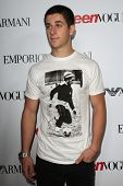 LOS ANGELES - SEP 27:  David Henrie at the Teen Vogue's 10th Annual Young Hollywood Party at Private