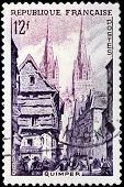 Quimper Stamp