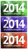 Merry Christmas and Happy New Year 2014.