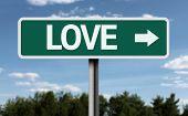 Love creative sign