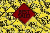 Best Sale! written on multiple road sign