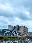 Philips Arena And Cnn Center In Atlanta