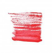 Abstract watercolor art hand paint isolated on white background. Watercolor stains.