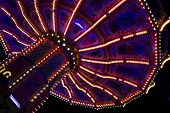 Beautiful Merry-go-round At The Oktoberfest In Munich