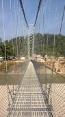 Swinging Foot Bridge