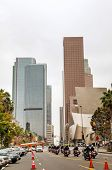 Downtown Los Angeles With The Walt Disney Concert Hall