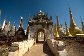 Sanctuary Shwe Inn Taing Near Inle Lake In Myanmar.