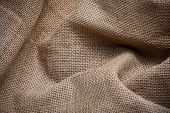 Texture Of Sack. Burlap Background Texture
