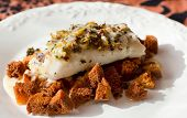 pic of hake  - Grilled Hake with toast bread and picata - JPG