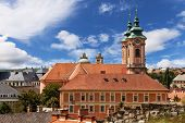 Church In Eger, Hungary.