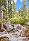 Redfish Lake Creek Tributary, Sawtooth National Recreation Area, ID