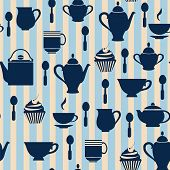 Teatime Background - Illustration