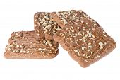 Speculaas, Typical Dutch Sweets Isolated Over White