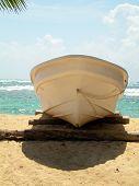 Fishing Boat Sallie Peachie Beach Corn Island Nicaragua