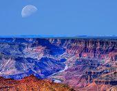 Grand Canyon Moon
