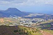 Landscape Lanzarote, Small Town Haria