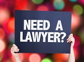 stock photo of lawyer  - Need a Lawyer - JPG