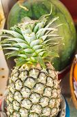 foto of south east asia  - Exotic fruits and vegetables in South East Asia. ** Note: Shallow depth of field - JPG